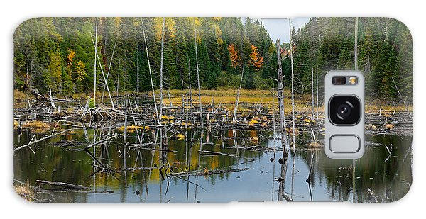 Drown Galaxy Case - Drowned Trees by Maxim Images Prints