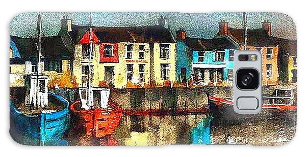 Dublin ... Skerries Harbour Galaxy Case