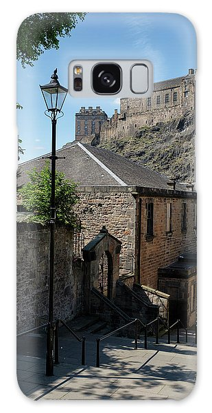 Galaxy Case featuring the photograph Edinburgh Castle In Scotland by Jeremy Lavender Photography