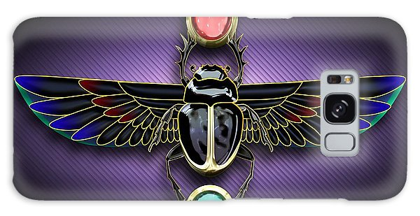 Egyptian Scarab Beetle Galaxy Case
