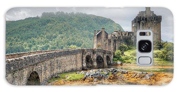 Eilean Donan Castle Galaxy Case by Ray Devlin