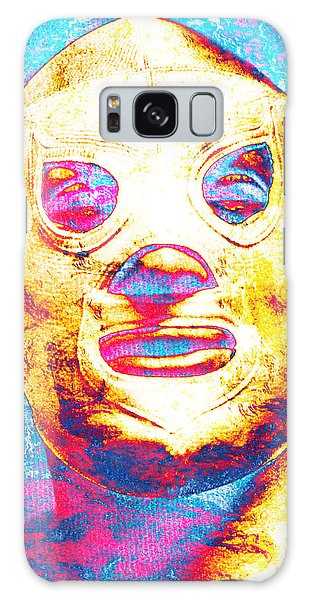 El Santo  Galaxy Case by J- J- Espinoza