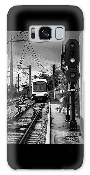 Electric Commuter Train In Bw Galaxy Case