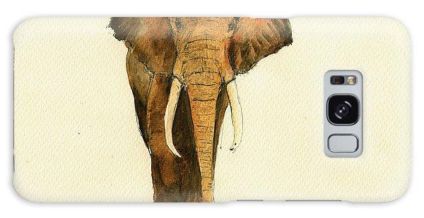 Elephant Watercolor Galaxy Case by Juan  Bosco