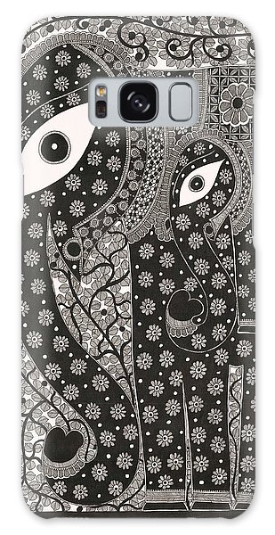 Elephants Galaxy Case