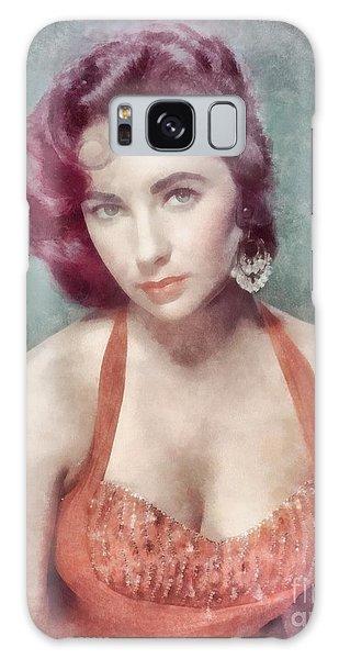 Elizabeth Taylor By John Springfield Galaxy S8 Case