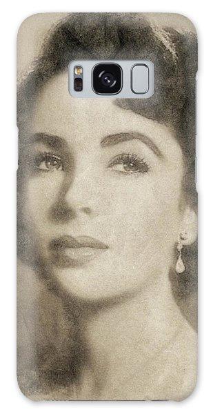 Elizabeth Taylor Hollywood Actress Galaxy Case by John Springfield