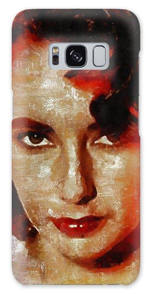 Elizabeth Taylor Galaxy Case by Mary Bassett