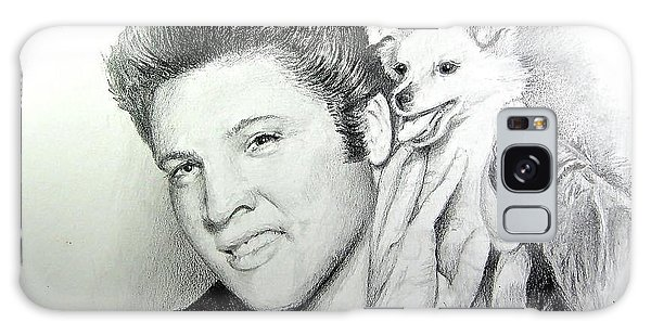 Elvis And Sweet-pea Galaxy Case