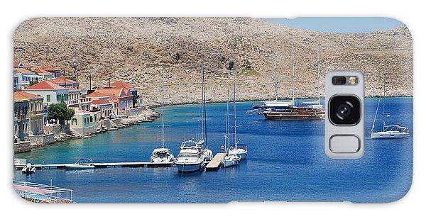 Emborio Harbour On Halki Galaxy Case