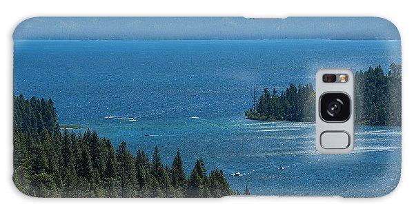 Emerald Bay Channel Galaxy Case