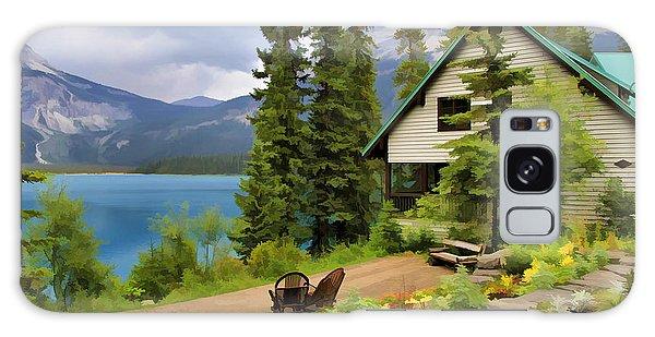 Emerald Lake Yoho National Park Galaxy Case