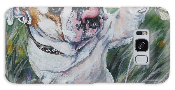 English Bulldog Galaxy Case
