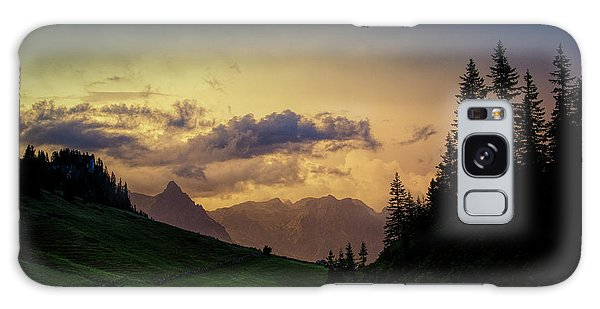 Evening Galaxy Case - Evening In The Alps by Nailia Schwarz