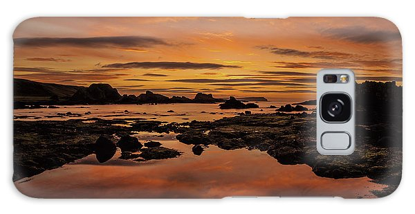 Evenings End Galaxy Case by Roy McPeak