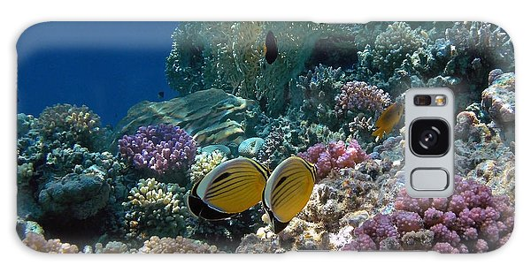 Exquisite Butterflyfish In The Red Sea Galaxy Case