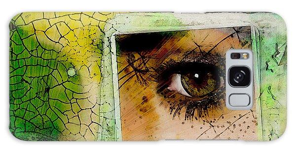 Eye, Me, Mine Galaxy Case