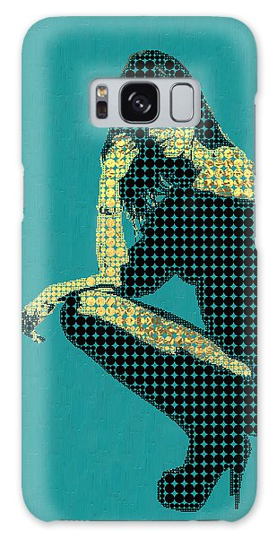 Pop Art Galaxy Case - Fading Memories - The Golden Days No.2 by Serge Averbukh
