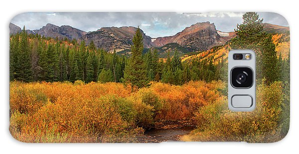Fall In Rocky Mountain National Park Galaxy Case