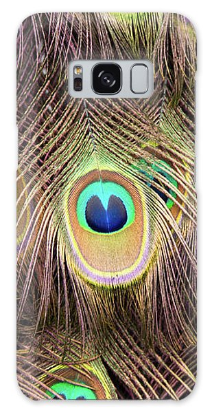 Galaxy Case featuring the photograph Fan Of Feathers by Joye Ardyn Durham