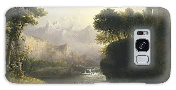 Fanciful Landscape Galaxy Case