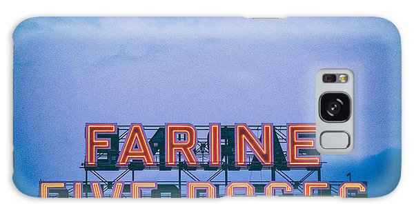 Quebec City Galaxy Case - Farine Five Roses by Tanya Harrison