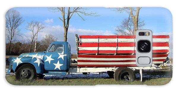Farm Truck Wading River New York Galaxy Case