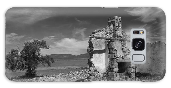 Farmhouse Cottage Ruin Flinders Ranges South Australia Galaxy Case
