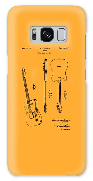 Fender 1951 Electric Guitar Patent Art - B  Galaxy Case