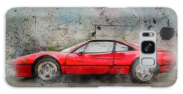 Galaxy Case featuring the photograph Ferrari 308 by Joel Witmeyer