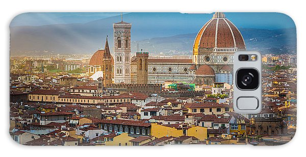 Place Galaxy Case - Firenze Duomo by Inge Johnsson