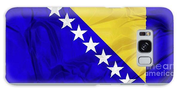 Flag Of Bosnia Galaxy Case