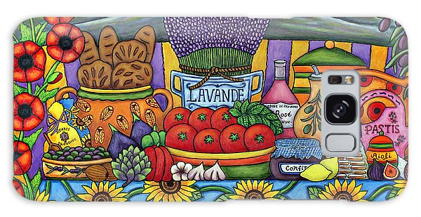 Flavours Of Provence Galaxy Case