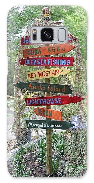 Florida Crossroads II Galaxy Case by Dodie Ulery