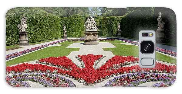 Flowerbeds And Sculptures In Eastern Parterre Galaxy Case