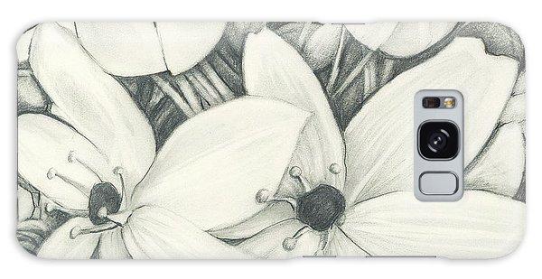 Flowers Pencil Galaxy Case