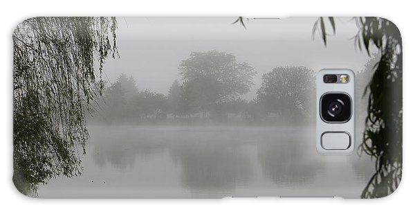 Fog On The Pond Galaxy Case