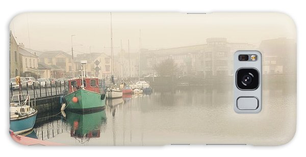 Foggy Galway Galaxy Case by Louise Fahy