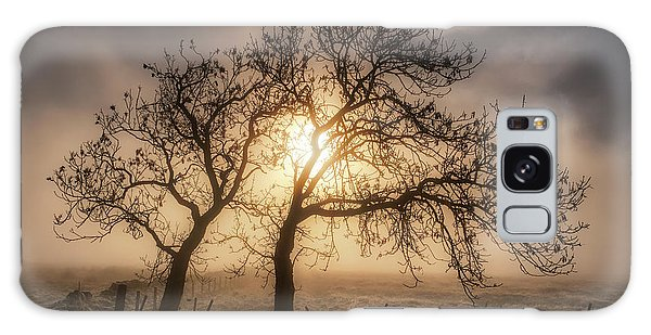 Galaxy Case featuring the photograph Foggy Morning by Jeremy Lavender Photography