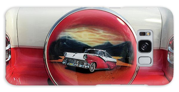 Ford Fairlane Rear Galaxy Case by Dave Mills