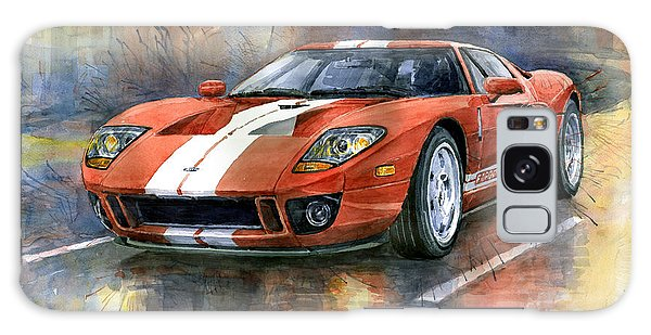 Car Galaxy S8 Case - Ford Gt 40 2006  by Yuriy Shevchuk