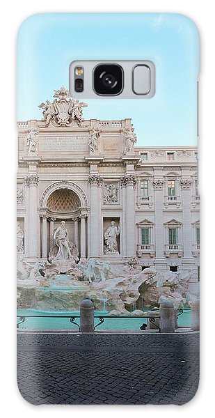 Fountain Di Trevi And Sunrise, Rome Galaxy Case