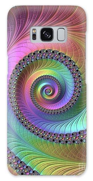 Fractal Design Galaxy Case - Fractal, Pattern, Kaleidoscope, Art by Raphael Terra