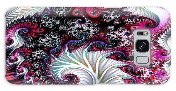 Fractal Pinks Galaxy Case
