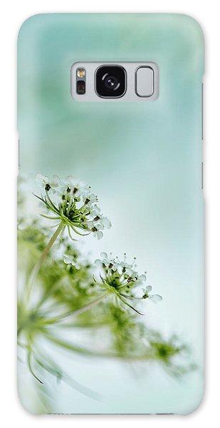 Flora Galaxy Case - Fragile by Nailia Schwarz