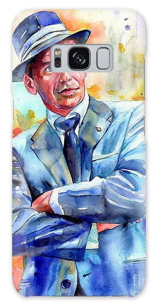 Fairy Galaxy S8 Case - Frank Sinatra Young Painting by Suzann's Art