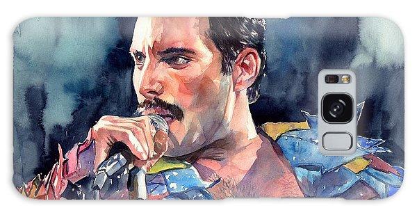 People Galaxy Case - Freddie Mercury Portrait by Suzann Sines