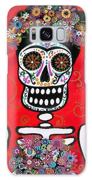 Frida Dia De Los Muertos Galaxy Case