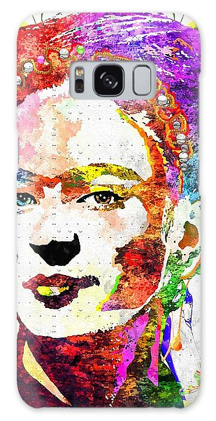 Frida Kahlo Grunge Galaxy Case by Daniel Janda
