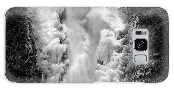 Frozen Multnomah Falls Galaxy Case